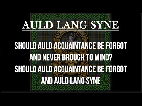 Auld Lang Syne, The Irish Rovers