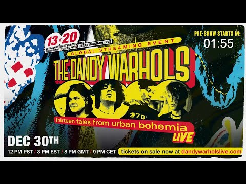 The Dandy Warhols 13x20 Official Pre-Show