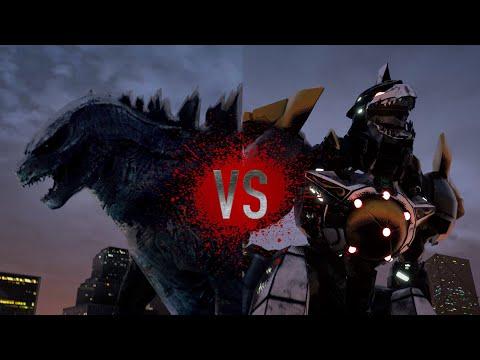 GODZILLA vs DRAGONZORD - Super Power Beat Down - EPISODE 27