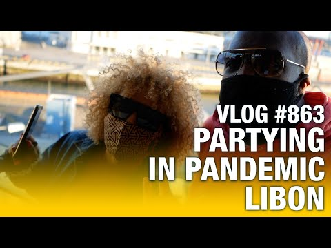 Party in Lisbon during the pandemic | vlog #863