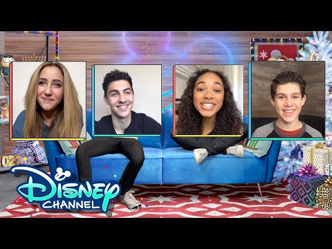 Ava Kolker and Jackson Dollinger's New Year's Resolutions | Virtual Chats | Disney Channel