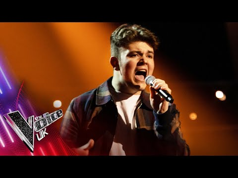 Billy Beech's 'Falling Like The Stars'   Blind Auditions   The Voice UK 2021