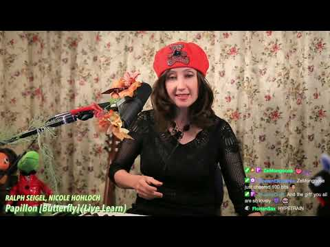 Butterfly/Papillon (♫ Live Cover on Twitch) - Elizaveta
