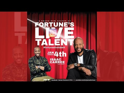 Fortune's Live Talent Cohost Isaac Carree 1/4/21