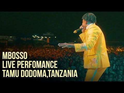 Mbosso live perfomance Tamu Dodoma,Tanzania
