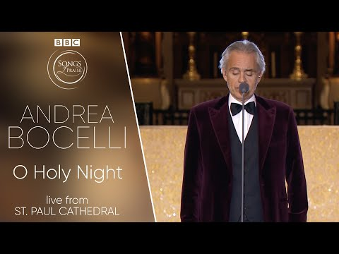 Andrea Bocelli -  Cantique De Noel / O Holy Night  (BBC Songs of Praise)