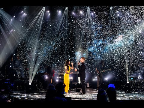 """JP Saxe & Julia Michaels Perform """"If The World Was Ending"""" (Dick Clark's NYRE 2021)."""