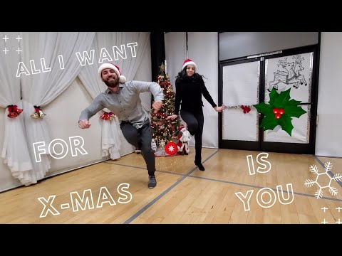 All I Want for Christmas Is You by Mariah Carey | Dance cover by Armen Way & Ani Tsolokyan