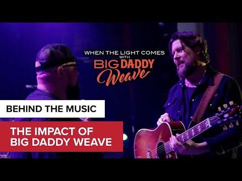 Zach William's Big Daddy Weave Testimony | When the Lights Come with Big Daddy Weave