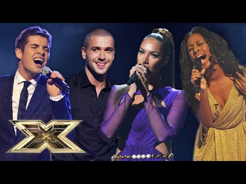 Most MEMORABLE winnning performances!   The X Factor UK