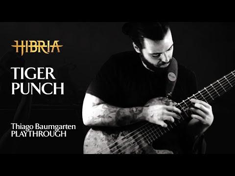 HIBRIA - TIGER PUNCH - BASS PLAYTHROUGH - THIAGO BAUMGARTEN