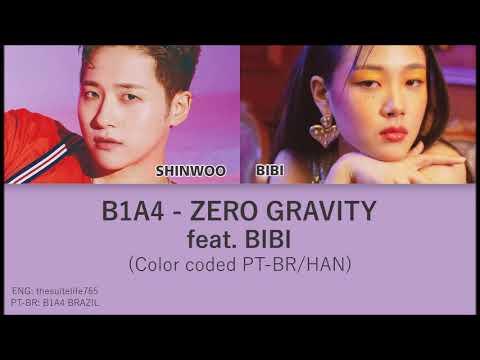B1A4 - Zero Gravity (무중력) (Solo 신우 CNU feat. Bibi) (color coded PT-BR/HAN)