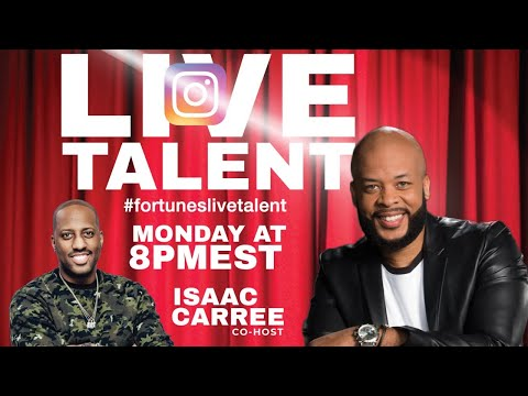 Fortune's Live Talent James Fortune & Isaac Carree