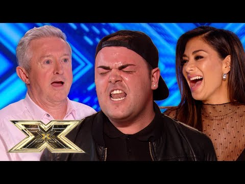 Ryan Wilkins SHOCKS the Judges with his MAGIC TONGUE | The X Factor UK
