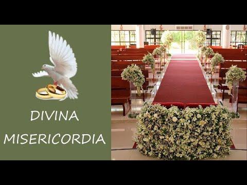 BODA CATOLICA en la Divina Misericordia (Voz Fem. Voz Masc. Piano, Violin y Cello)