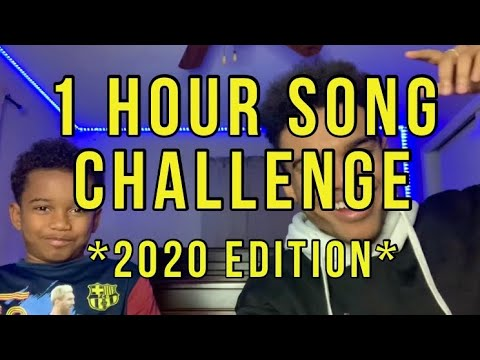 1 HOUR SONG CHALLENGE w/ Andrew *2020 EDITION*