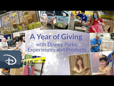 A Year of Giving | Disney Parks