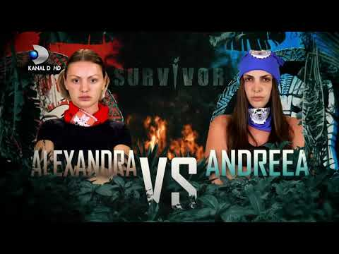 Alexandra Stan vs Andreea: Prima VICTORIE la #Survivor 2021 I @Kanal D Romania