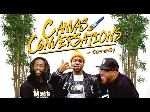 Curren$y Tells Us Why He Doesn't Take Edibles While Being Drawn   Canvas Conversations