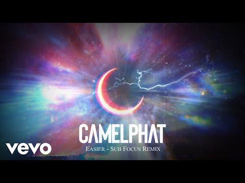 CamelPhat - Easier (Sub Focus Remix) [Visualiser] ft. LOWES