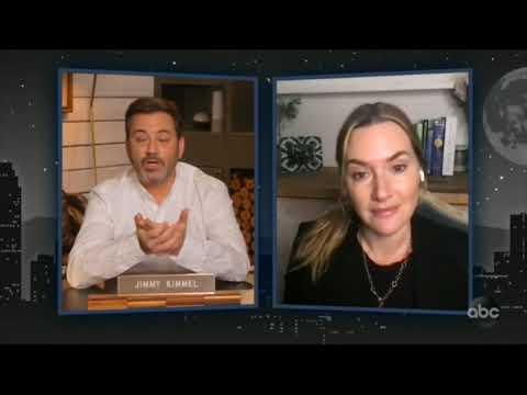 Jimmy Kimmel Live ! Kate Winslet । Ammonite । 14 Jan 2021