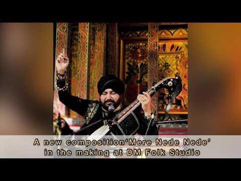 Mere Nede Nede | Daler Mehndi | New Punjabi Song 2021| Live | Folk Studio