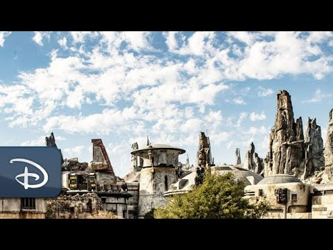 Go Behind the X-wings and Blaster Marks of Batuu | Disney Parks