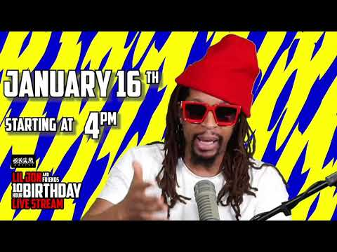 YOOOO WE DOIN A 1OHR LIVE STREAM FOR MY BDAY!!! SAT JAN 16  STARTING AT 4PM EST!!