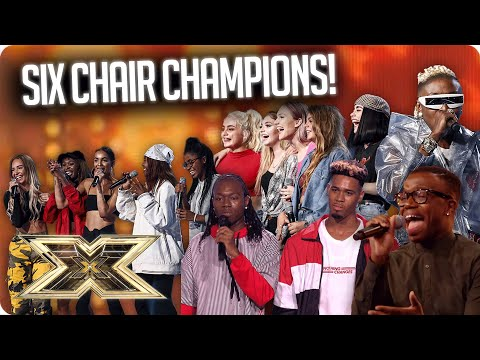 Six Chair Champions: The Groups! | The X Factor UK