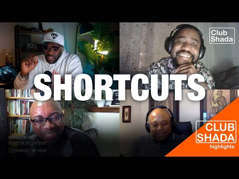 The Shortcut is the Lazy Way | Club Shada
