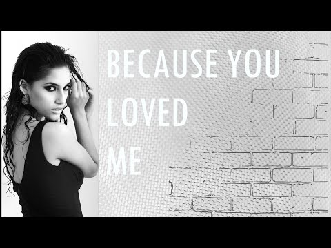 CELINE DION. Because You Loved Me (Cover by Brenda Martin)