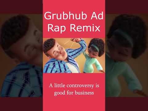 Grubhub Ad But It's a Rap Remix