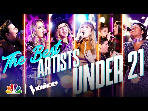 The Best Performances by Artists Under 21 from Season 19 - The Voice 2020