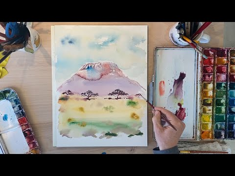 Paint and Play: Episode Nine - Kilimanjaro