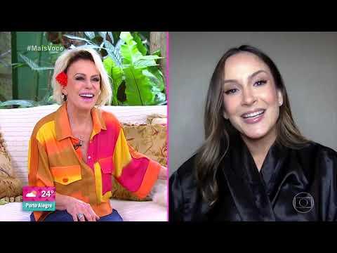 Ana Maria Braga relembra último encontro presencial com Claudia Leitte