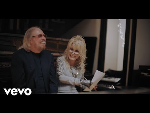 Barry Gibb - Words (Greenfields Studio Sessions) ft. Dolly Parton