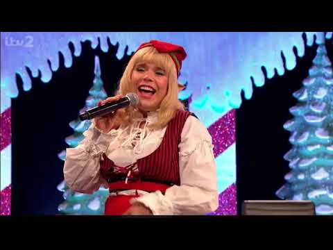 Paloma Faith at Celebrity Juice Christmas Special 2020 (Baby it's cold outside)