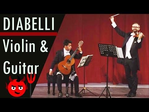 ANTON DIABELLI: Danzas Húngaras (violín y guitarra)