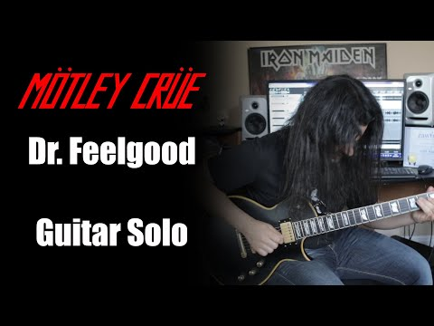 DR. FEELGOOD (Motley Crue) GUITAR SOLO BY LUÍS KALIL