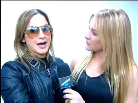 Fiorella Mattheis mostra os bastidores do novo show de Claudia Leitte