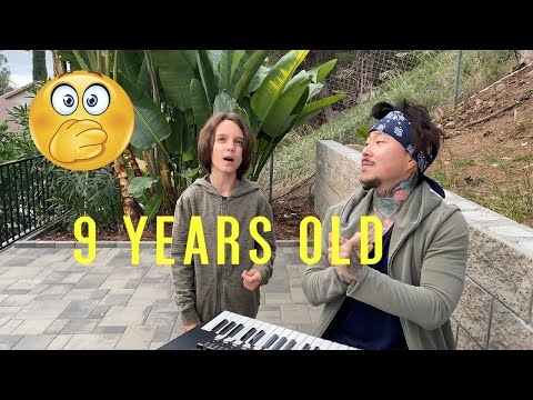 9 Year Old Sings Justin Bieber's Hit Song w/ Vocal Coach