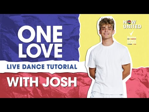Now United - One Love Dance Tutorial with Josh - LIVE! in the #RexonaDanceStudio
