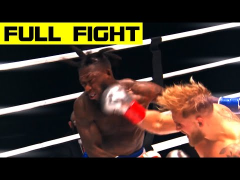 Jake Paul Defeats Nate Robinson Via Second-Round Knockout (FULL FIGHT)