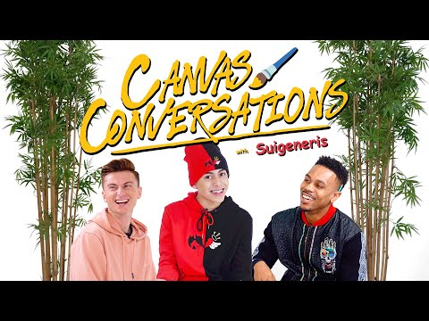 Suigeneris Talks About ASMR and Tattoos While Being Drawn  | Canvas Conversations