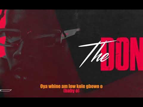 Mr Eazi - The Don (Lyric Video)