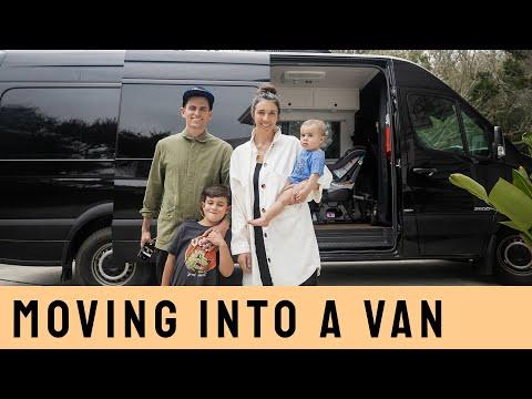 VAN LIFE   Family of FOUR   Sprinter Van Conversion   Bunk Beds