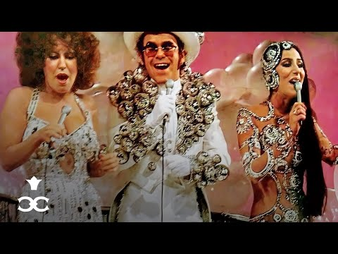 Cher, Elton John, Bette Midler - Never Can Say Goodbye Medley ft. Flip Wilson (The Cher Show, 1975)