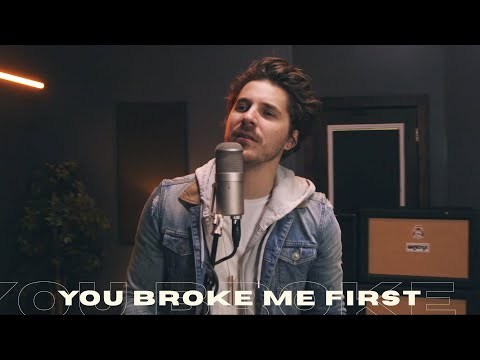 Tate McRae - you broke me first (Rock Cover by Our Last Night)