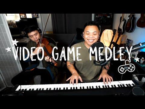 Video Game Medley 🎮👾🎻🎹 ft. Albert Chang | AJ Rafael #Jamuary