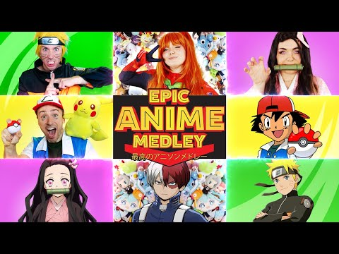 Epic Anime Medley - Peter Hollens feat. AmaLee